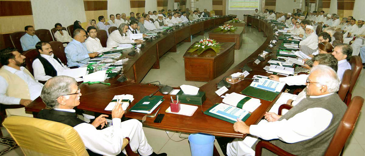 Provincial Cabinet Meeting regarding Approval of the Provincial Budget 2016-17
