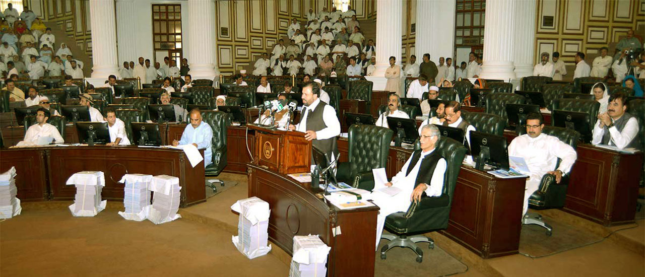 Budget Speech of Provincial Minister for Finance Muzaffar Said Advocate in KP Assembly