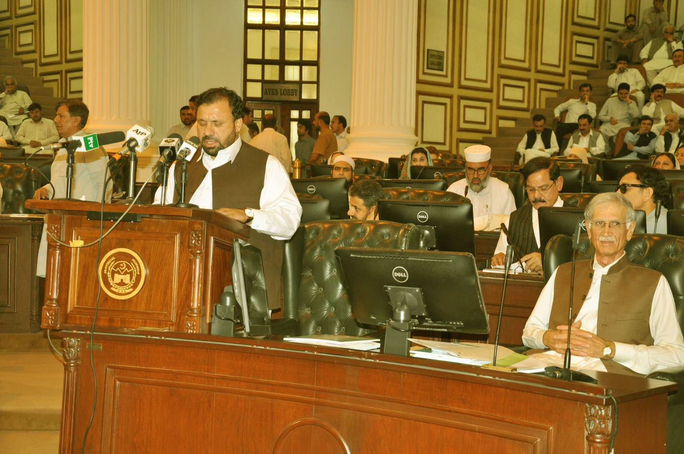 Budget Speech 2017-18 of Provincial Minister for Finance Muzaffar Said Advocate in KP Assembly