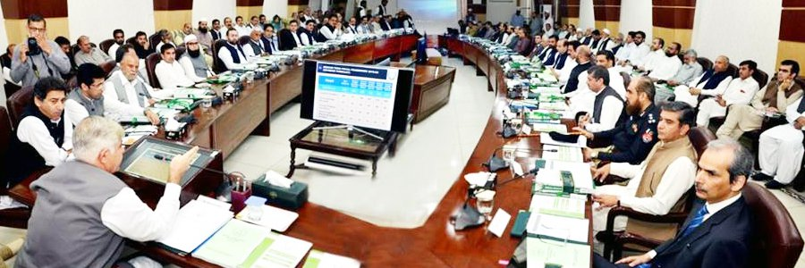 Provincial Cabinet Meeting regarding Approval of the Provincial Budget 2018-19