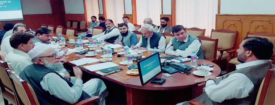 Budget Planning Through Mutual Consultation: Pre Budget 2018-19 Consultation with Minister, Advisor & Special Assistants