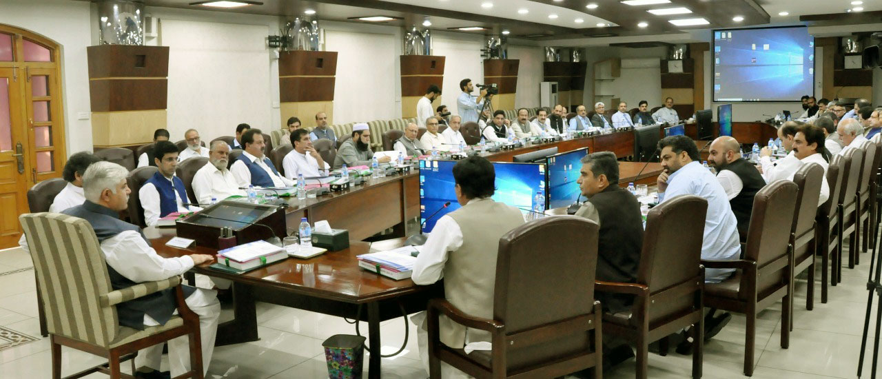 Budget Planning Through Mutual Consultation: Pre Budget 2019-20 Consultation with Minister, Advistor & Special Assistants