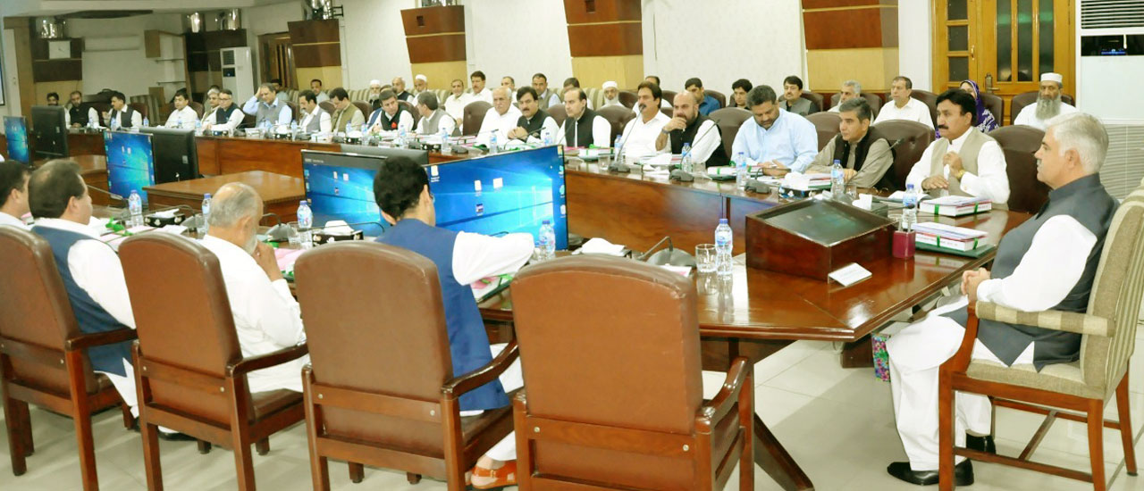 Provincial Cabinet Meeting regarding Approval of the Provincial Budget 2019-20
