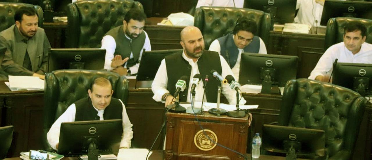 Budget Speech 2019-20 of Provincial Minister for Finance Taimur Saleem Khan Jhagra in KP Assembly