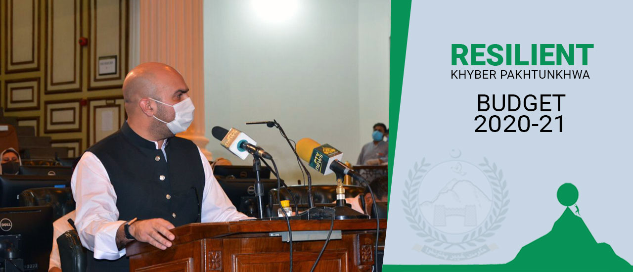 Budget Speech 2020-21 of Provincial Minister for Finance Taimur Saleem Khan Jhagra in KP Assembly