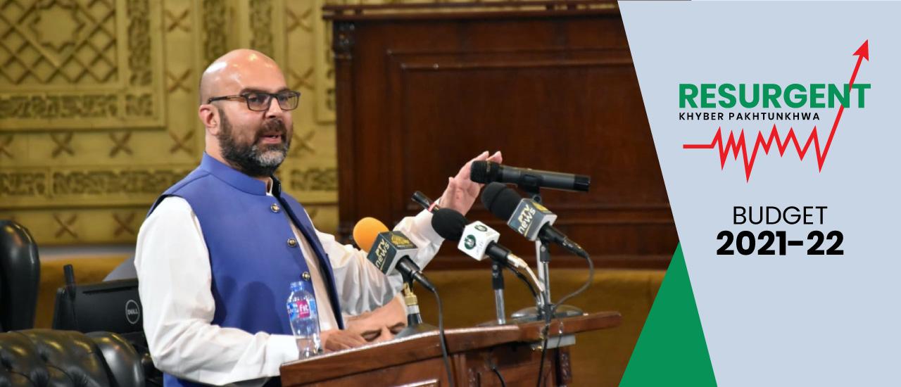 Budget Speech 2021-22 of Provincial Minister for Finance Taimur Saleem Khan Jhagra in KP Assembly