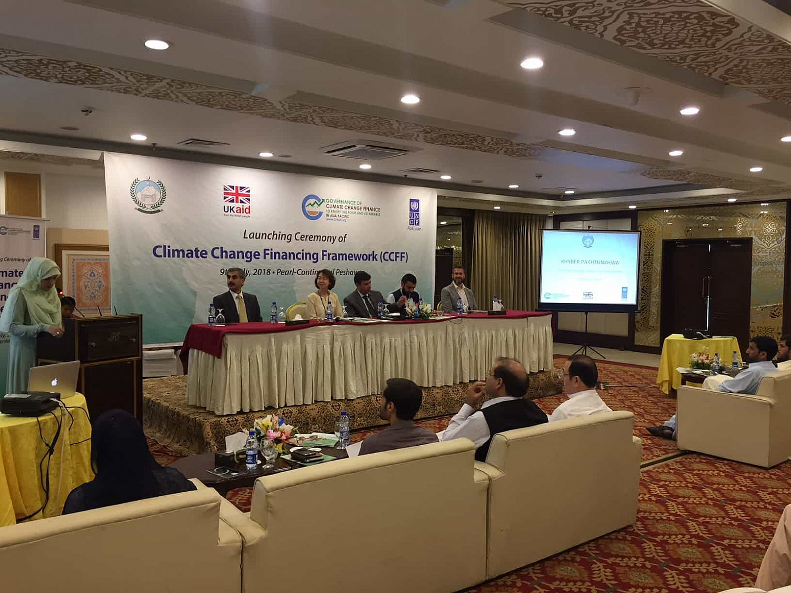 Launching Ceremony of Climate Change Finance Framework(CCF), 9 July 2018